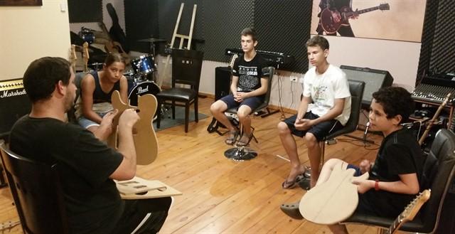 סדנאות מקצועיות לגיטריסט